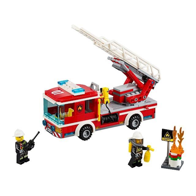Конструктор LEGO City 60107 Пожарный автомобиль с лестницей<br>