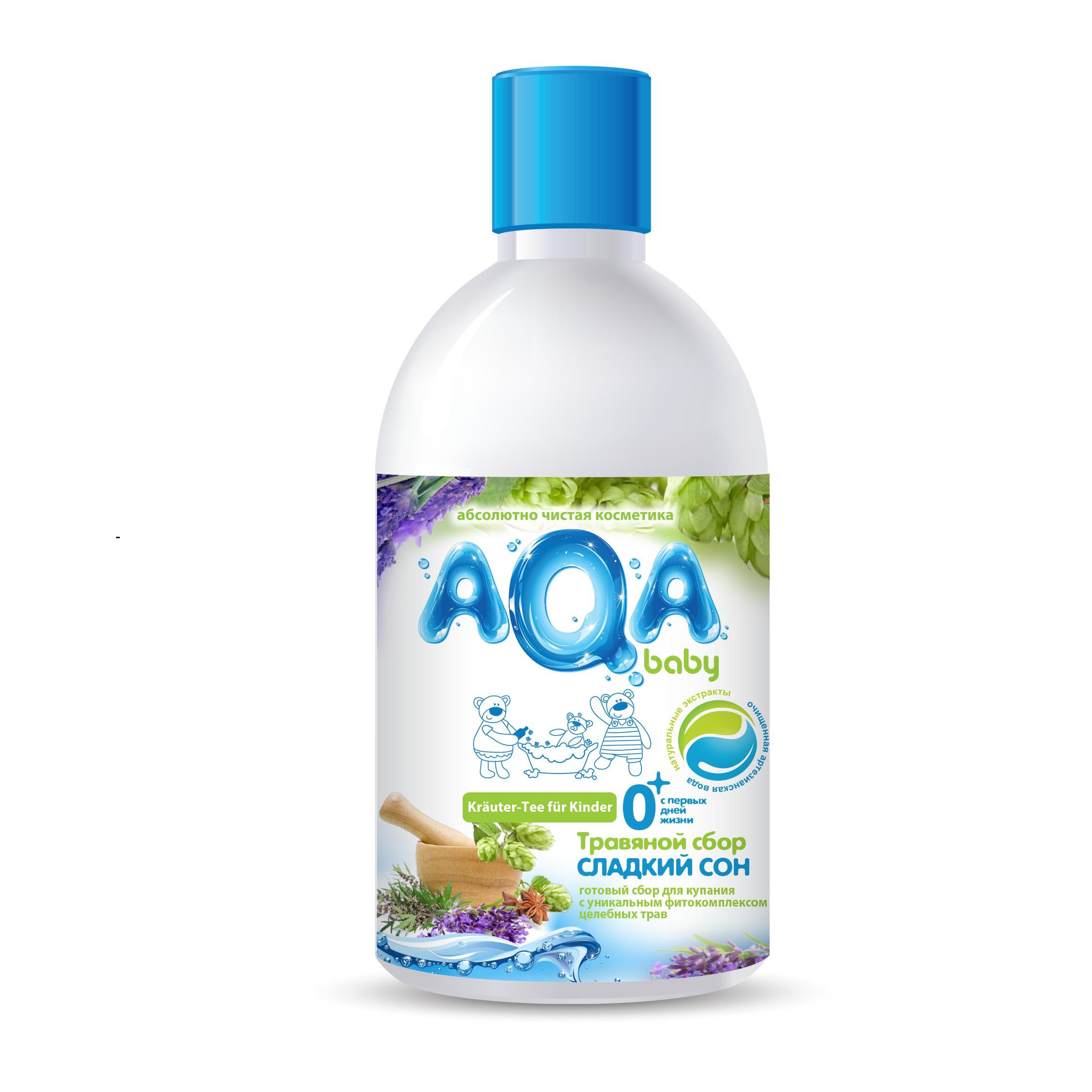 Травяной сбор AQA baby для купания Сладкий сон 300 мл<br>