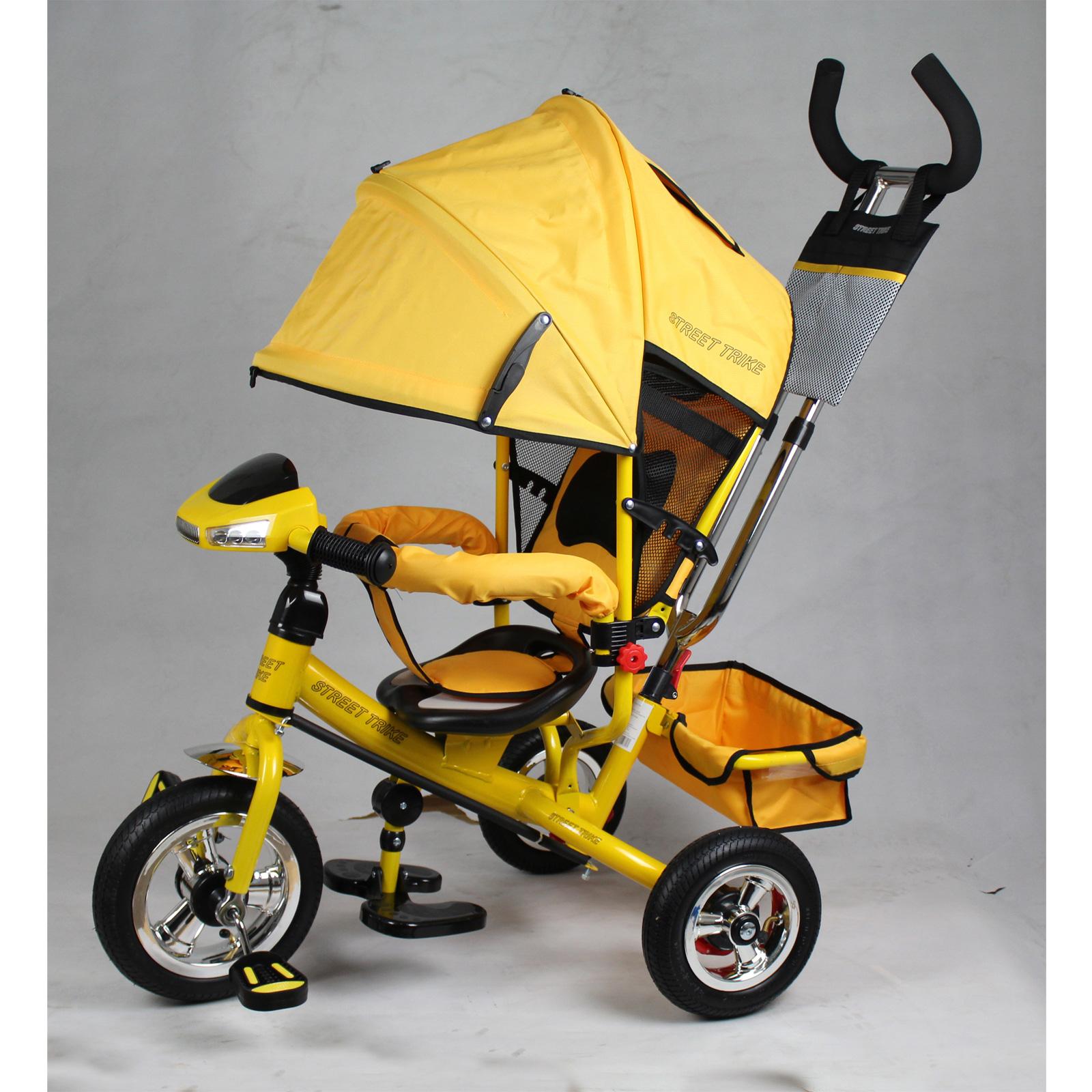 Велосипед Street Trike A22-1А Желтый<br>