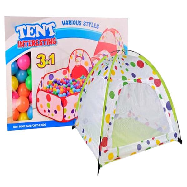 Игровая палатка YAKO с каркасом (в комплекте 65 шаров) Y20206005<br>