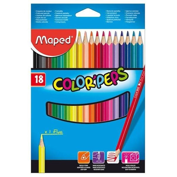 ��������� ������� MAPED COLOR PEPS 18 ������ ������������ ������� (Maped)