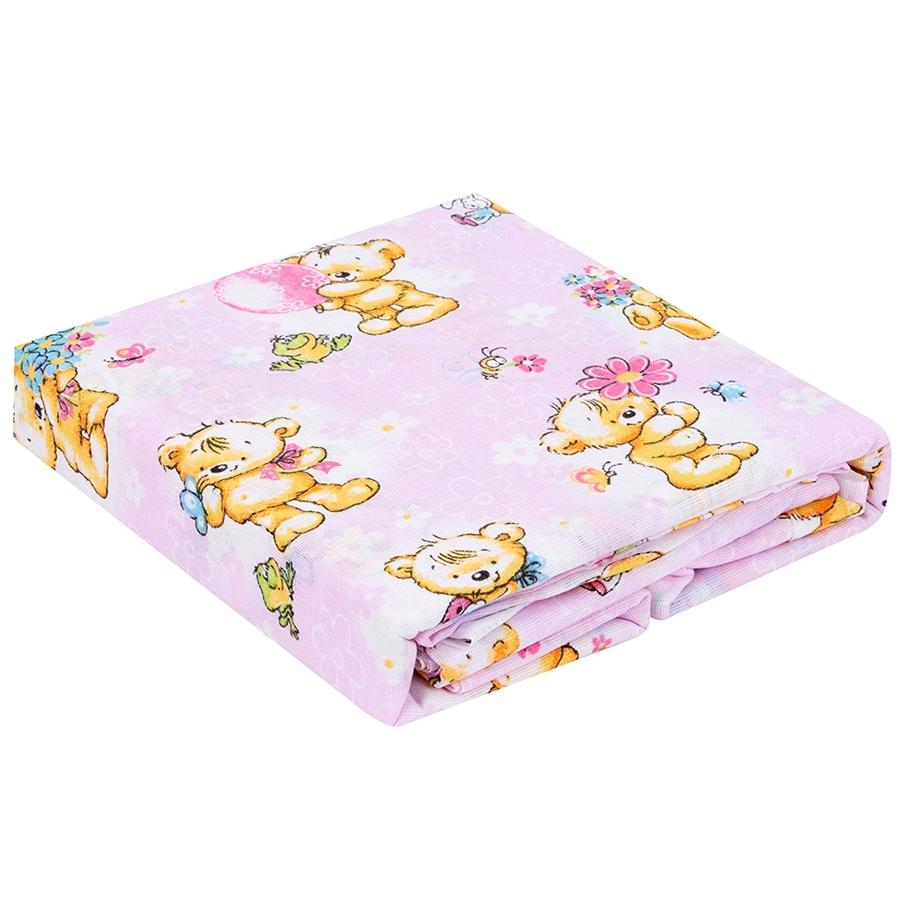 Комплект постельного белья детский бязь Непоседа Кошки-мышки КДКм-1 Мишки-Игрушки Вид 1<br>