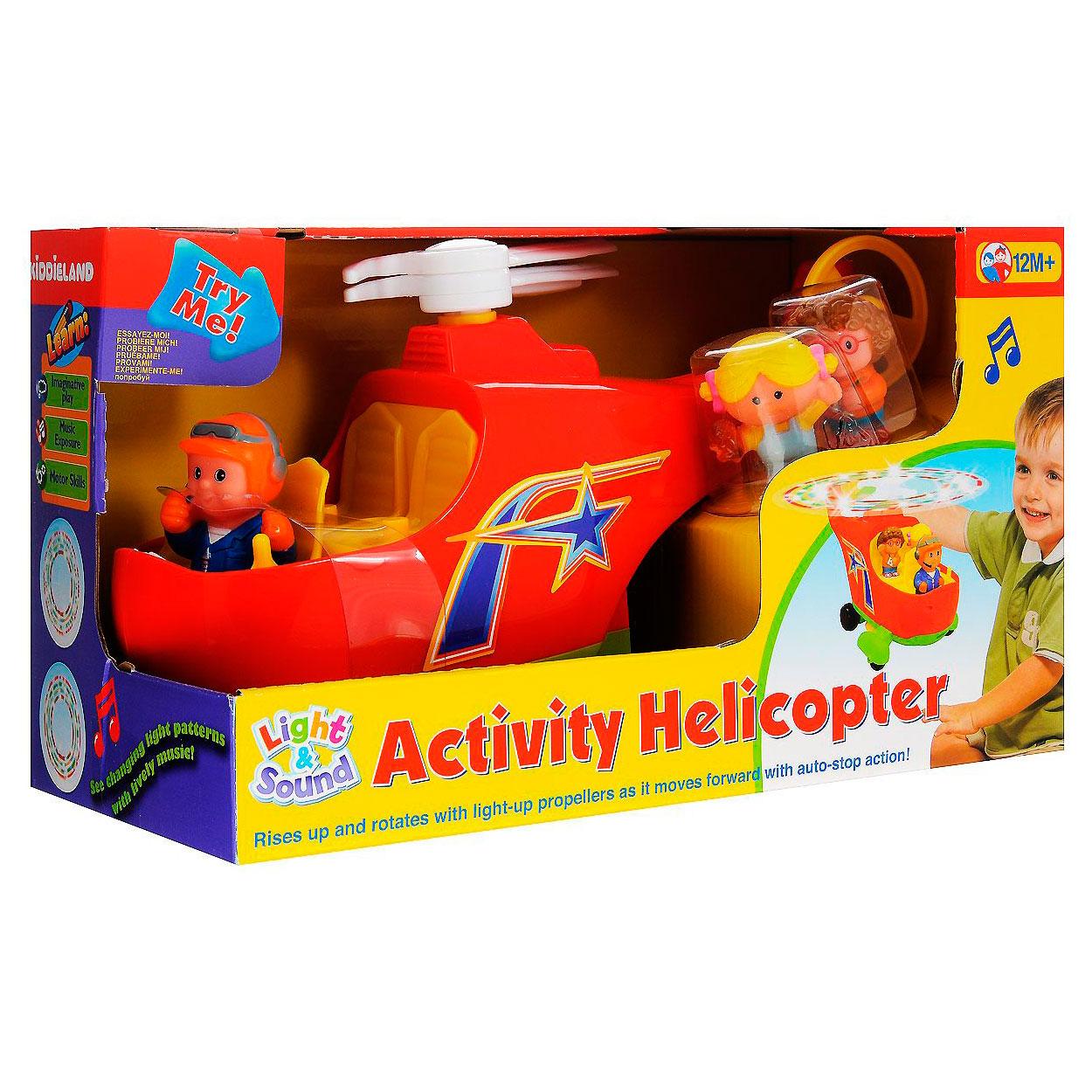 Развивающая игрушка Kiddieland Вертолет<br>
