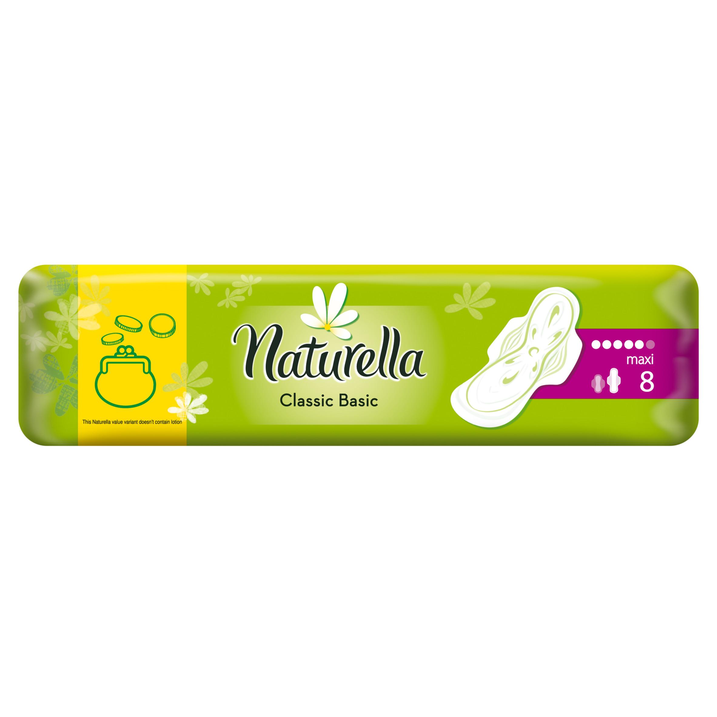 Прокладки гигиенические Naturella Classic Basic Maxi 8Шт.<br>
