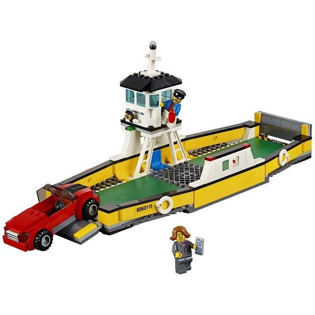 Конструктор LEGO City 60119 Паром<br>