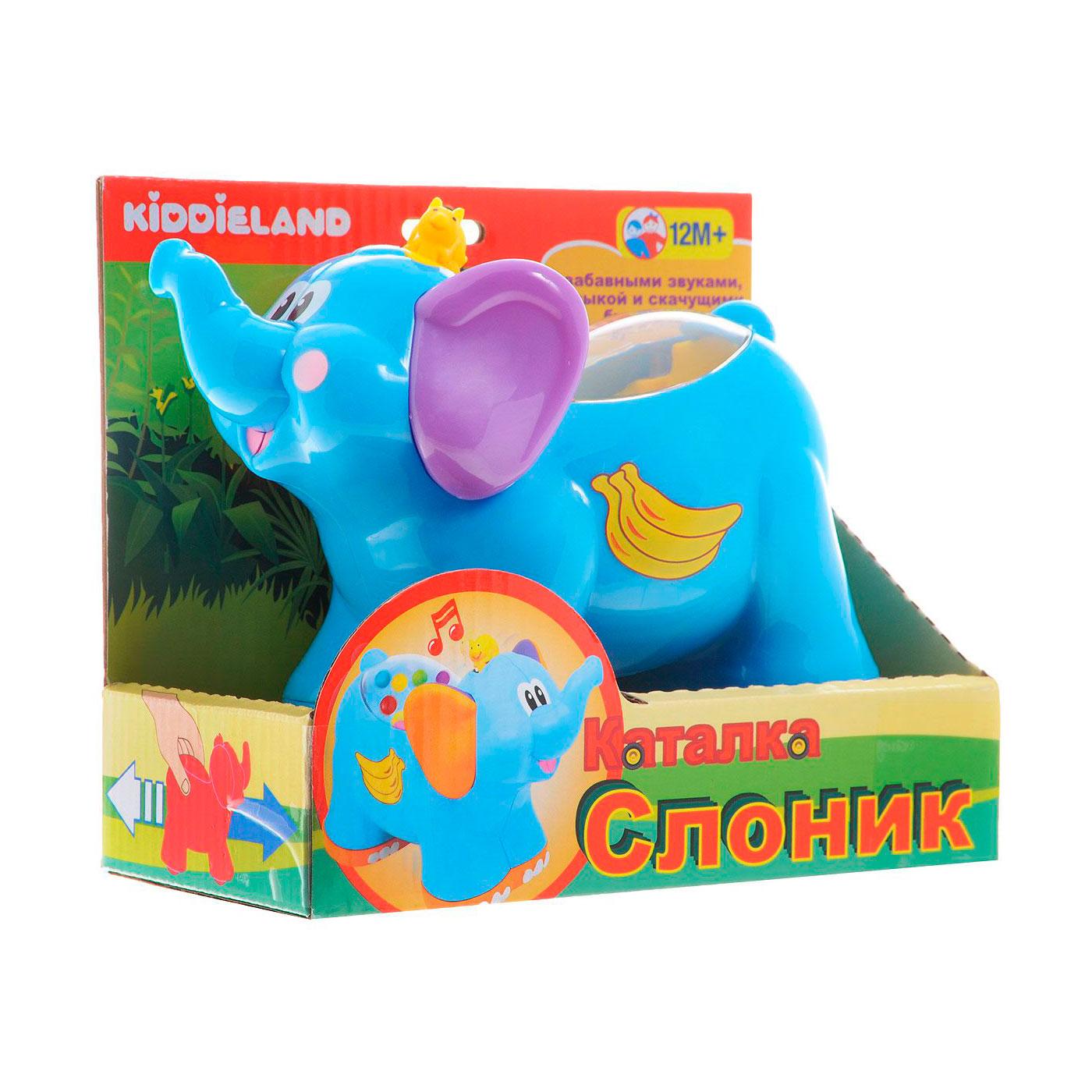 Развивающая игрушка Kiddieland Каталка Слоненок<br>