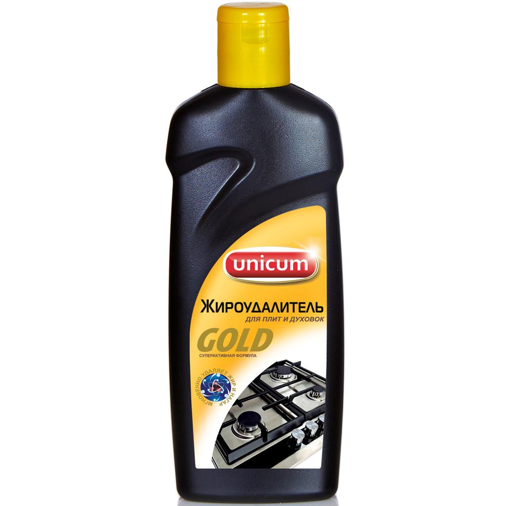 Жироудалитель Unicum Gold для чистки плит 380мл<br>