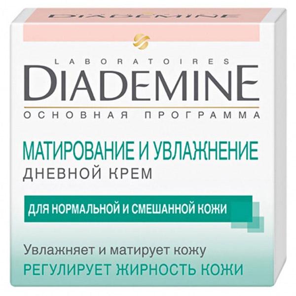 Крем Diademine матирующий и увлажняющий дневной уход 50 мл<br>