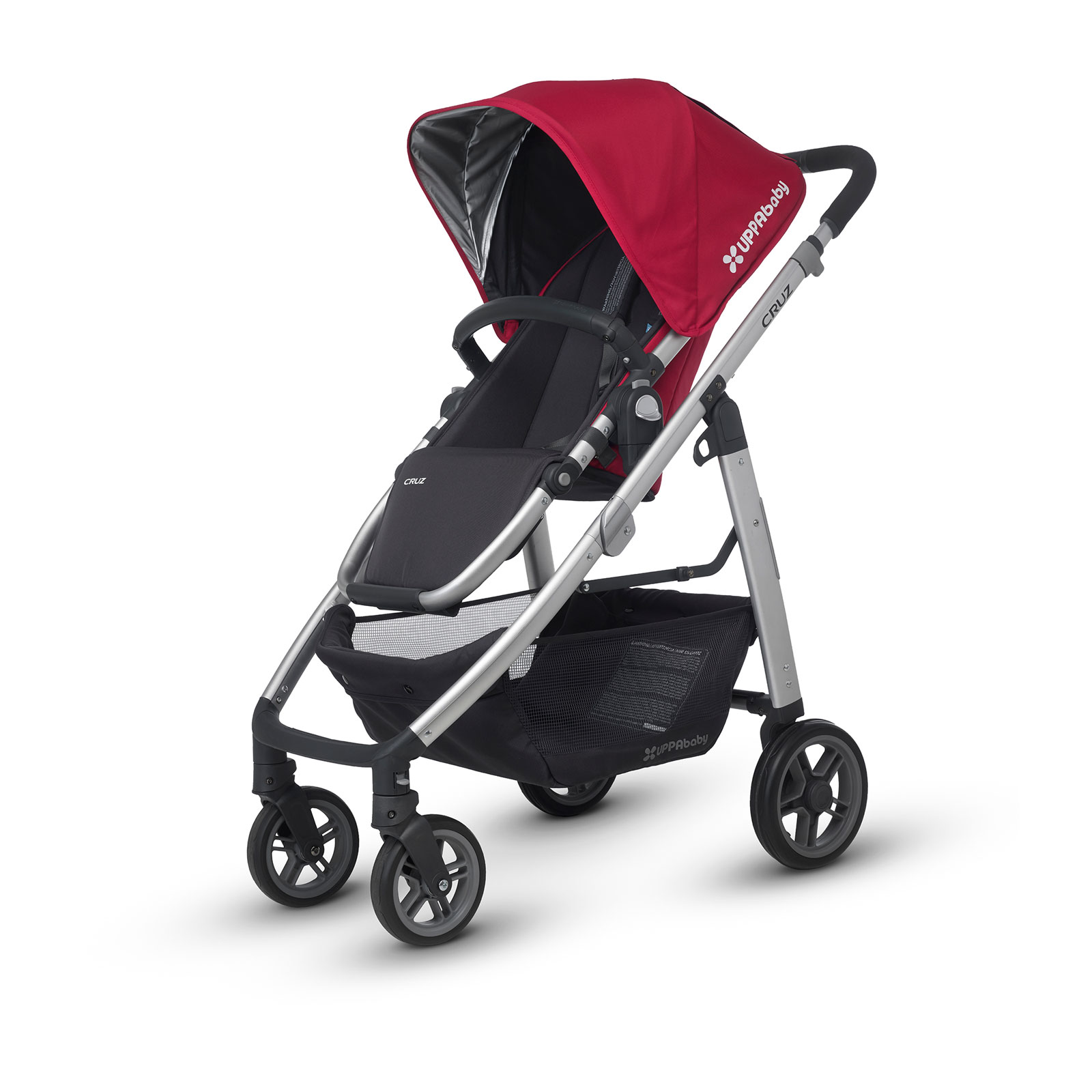 Коляска Uppababy Cruz Red Silver<br>