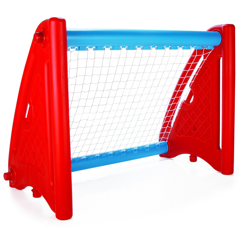Ворота футбольные Pilsan Красные<br>