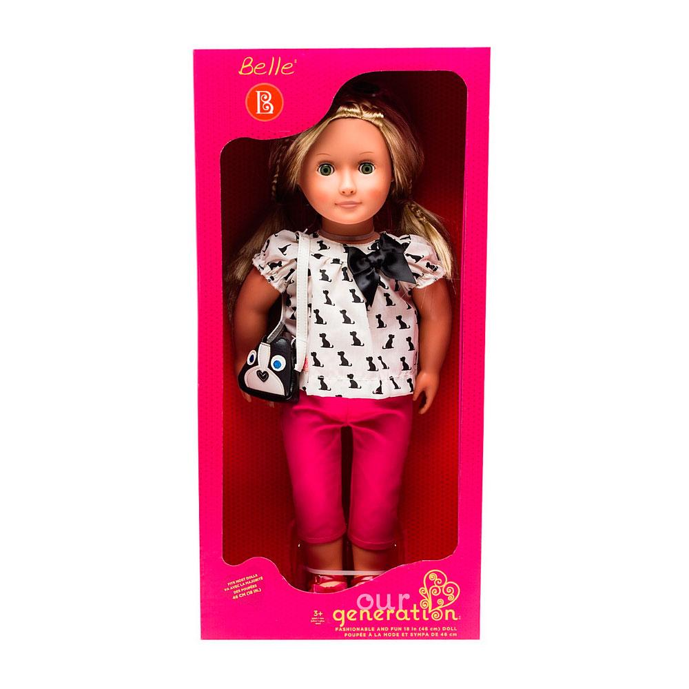 Кукла Our Generation Бель 46 см<br>