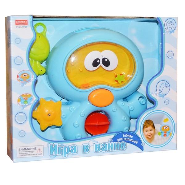 Игрушки для ванной Zhorya Инопланетянин<br>