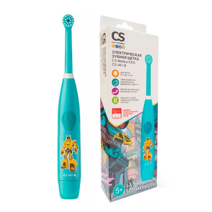 Зубная щетка электрическая CS Medica Kids KIDS CS-461-B<br>
