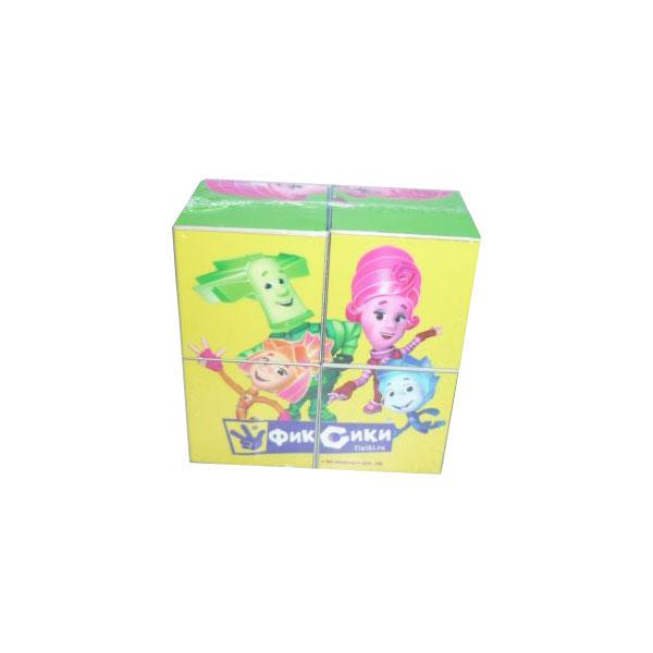 Развивающая игрушка Умка Фиксики Набор из 4-х кубиков