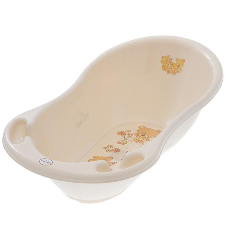 Ванночка детская Tega Мишки 86 см бежевая<br>