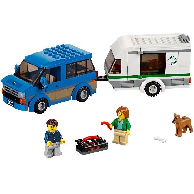 Конструктор LEGO City 60117 Фургон и дом на колёсах<br>