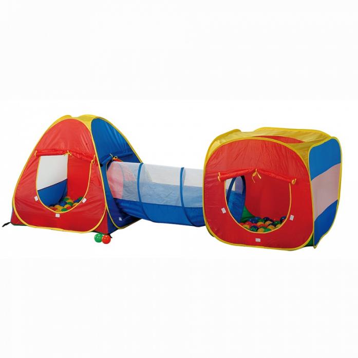Игровой Дом Calida Конус и квадрат и туннель и 100 шаров  629S<br>