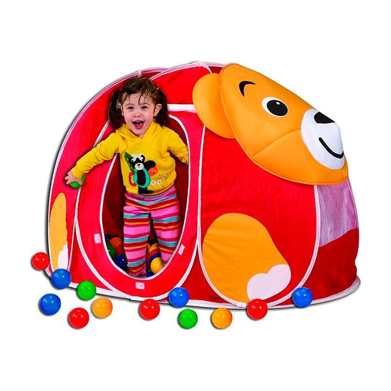 Игровой Дом Calida Мишка + 100 шаров<br>