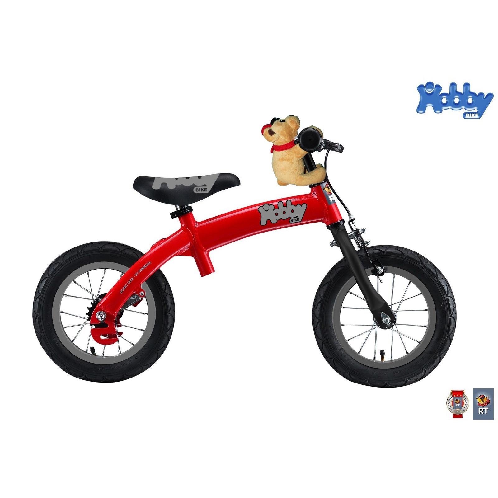 Велобалансир-велосипед Hobby-bike ALU NEW 2016 Red<br>