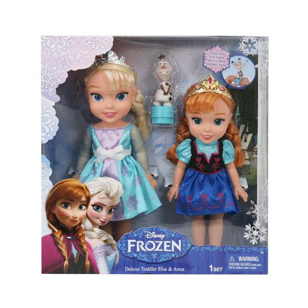 Набор кукол Disney Princess 2 куклы и Олаф Холодное Сердце<br>