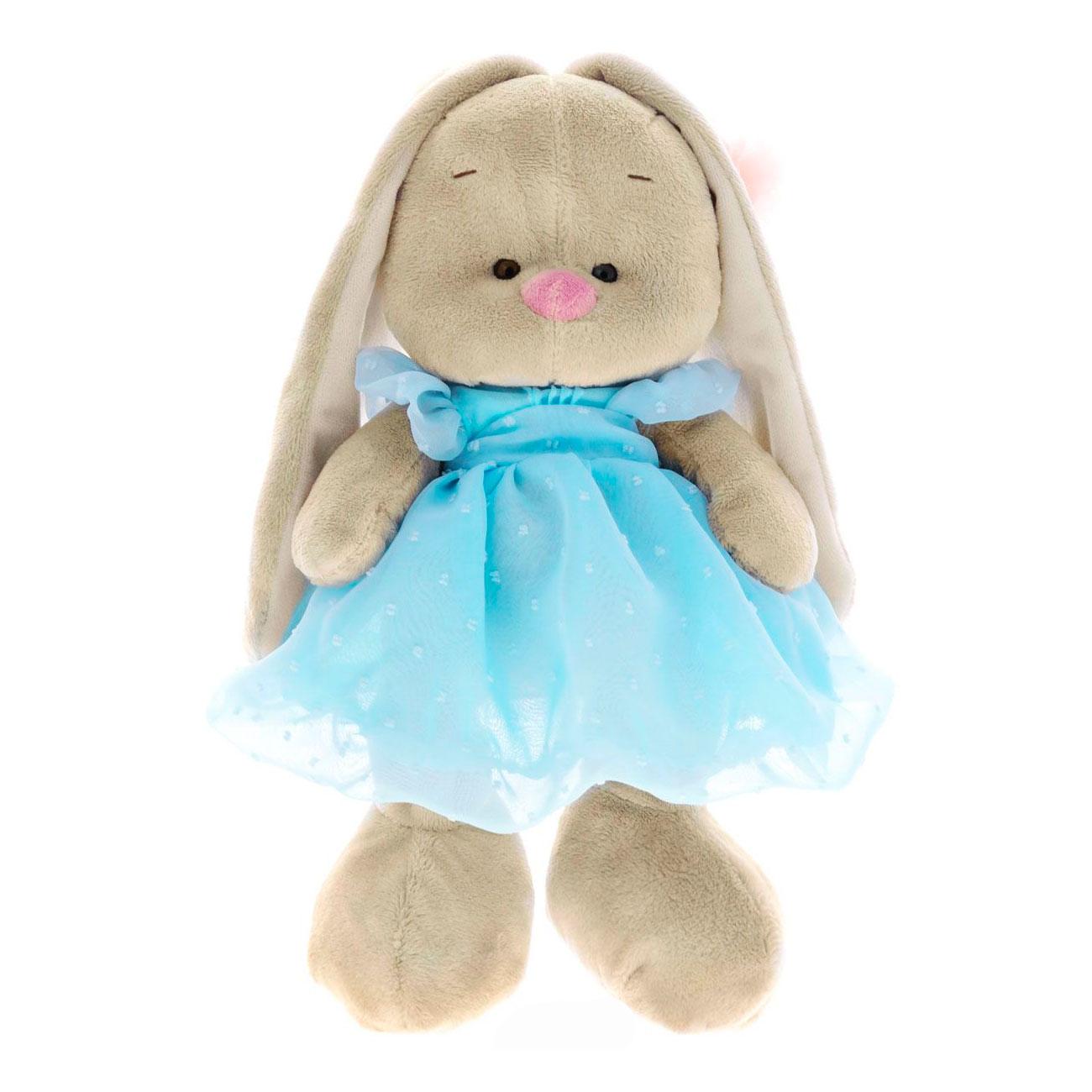 Мягкая игрушка Зайка Ми В голубом платье<br>