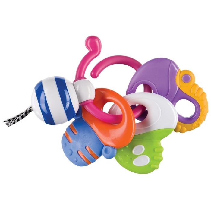Погремушка-прорезыватель Happy Baby Веселые ключи<br>