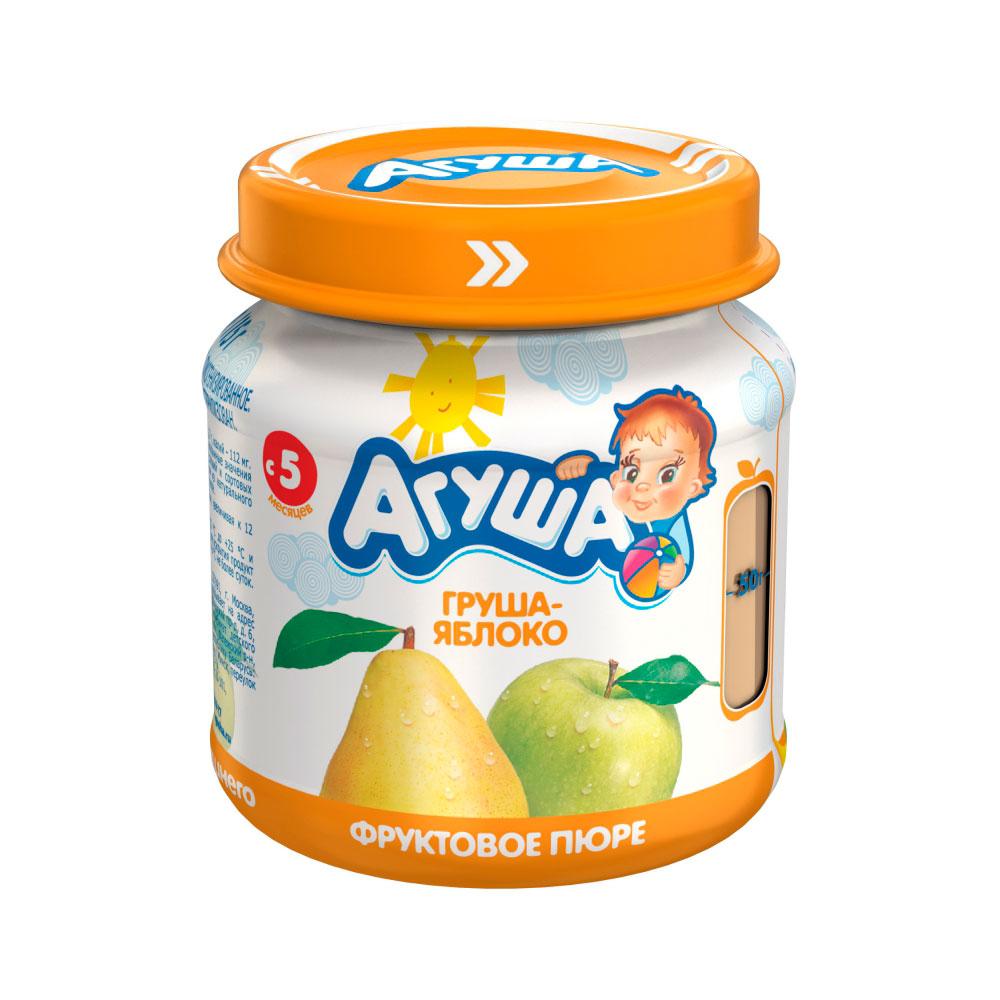 Пюре Агуша фруктовое 115 гр Груша яблоко (с 5 мес)<br>