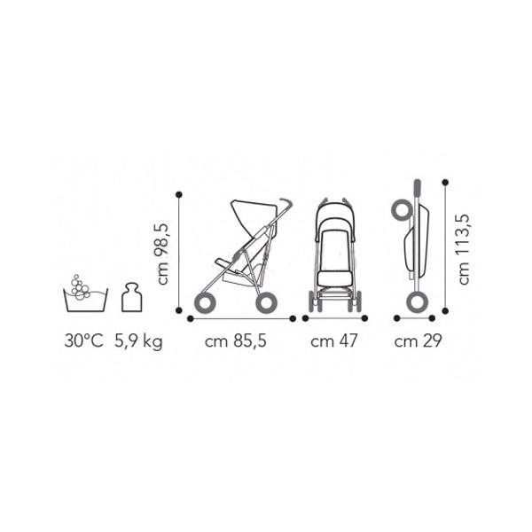 Коляска Brevi B Light без бампера 239