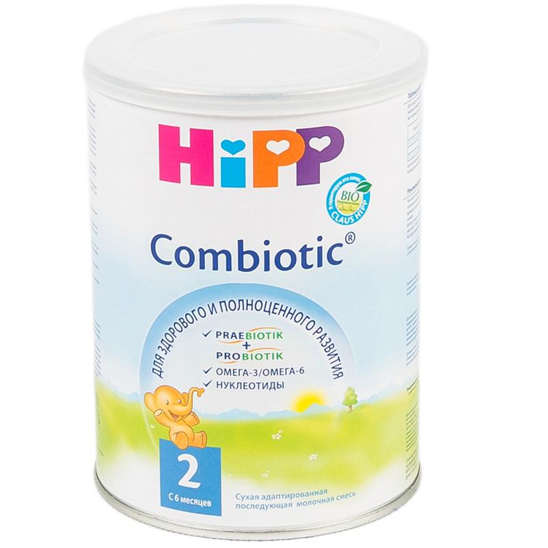 Заменитель Hipp Combiotic 350 гр №2 (с 6 мес)<br>