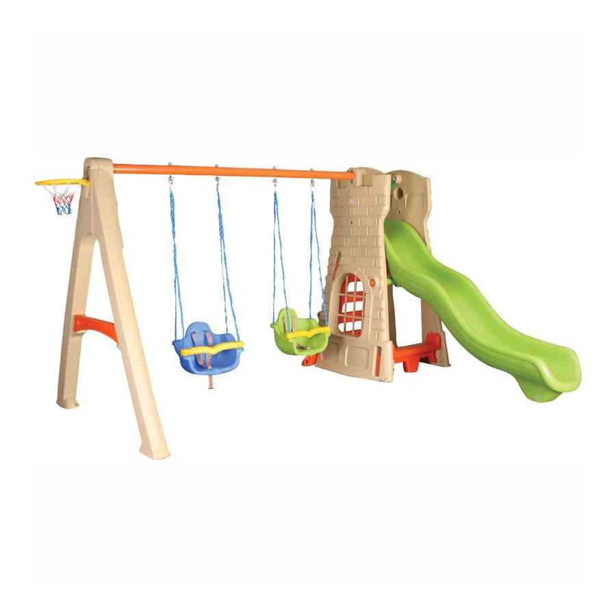 ������� ����� Pilsan Castle Slide Set