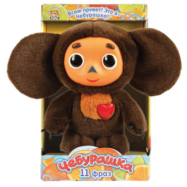 Мягкая игрушка Мульти-пульти Чебурашка с сердцем 25 см<br>