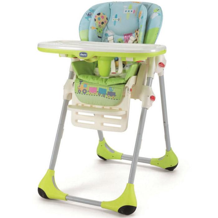 Стульчик для кормления Chicco Polly Baby World 4W