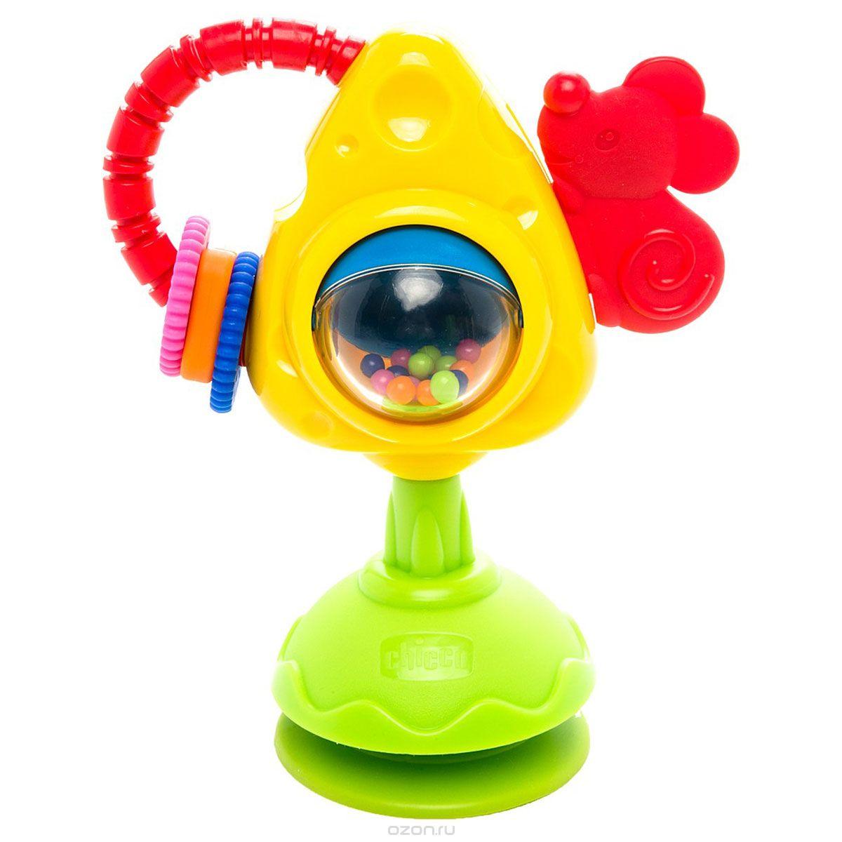 Игрушка для стульчика Chicco Мышка с сыром<br>