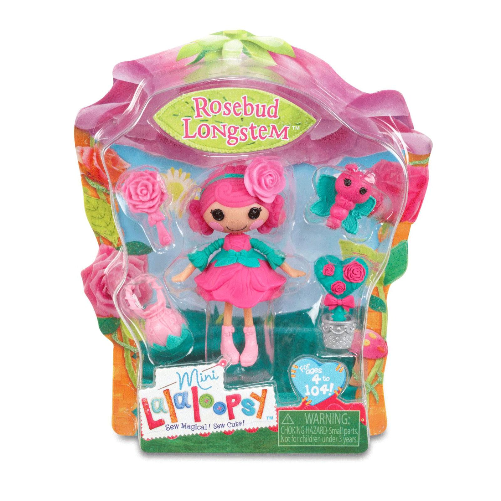 Кукла Mini Lalaloopsy с аксессуарами Rosebud Longstem