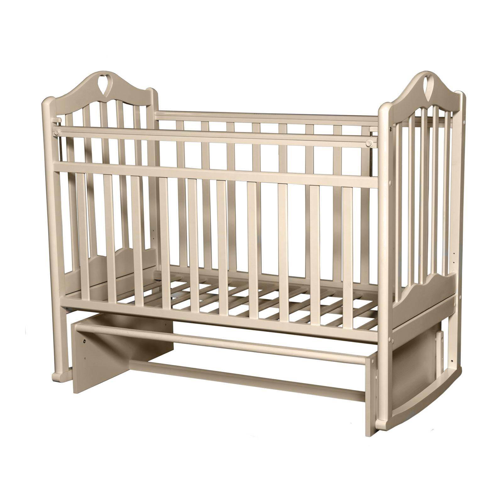 Кроватка Антел Каролина-3 Слоновая кость<br>