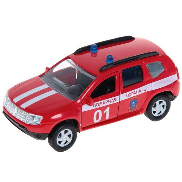 Машинка Autotime RENAULT DUSTER пожарная охрана 1:38<br>