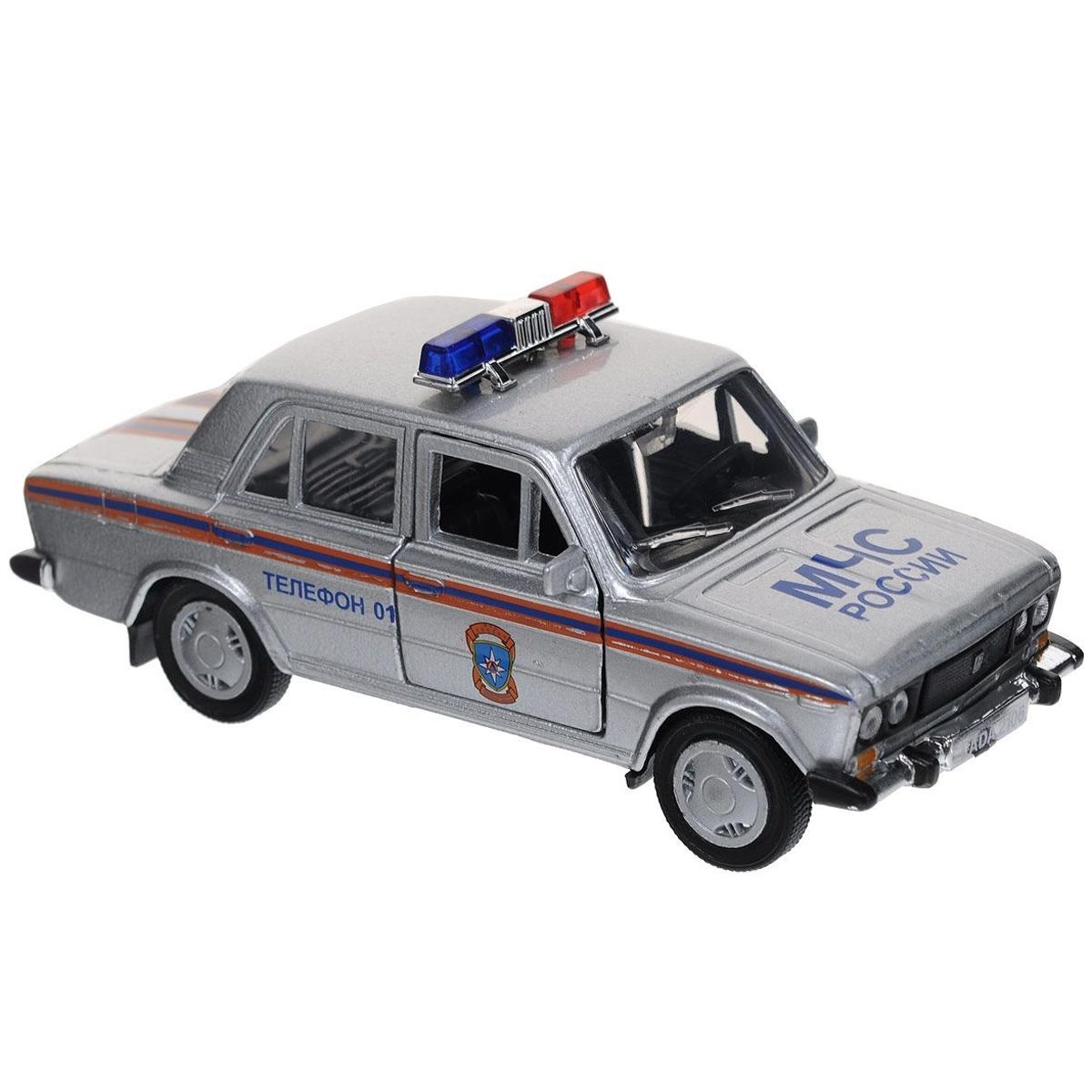 Машинка Autotime LADA 2106 МЧС 1:36<br>