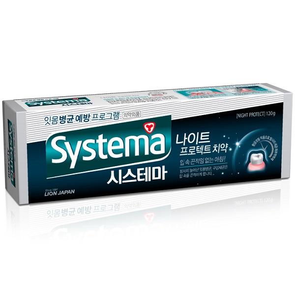 Зубная паста CJ Lion Systema ночная антибактериальная защита 120 гр<br>