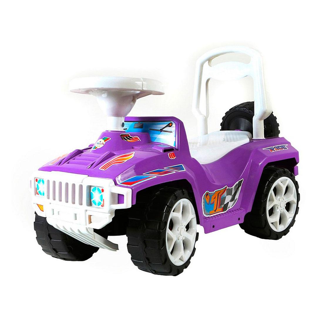 Каталка RT Race Mini ОР419 Formula 1 Фиолетовая
