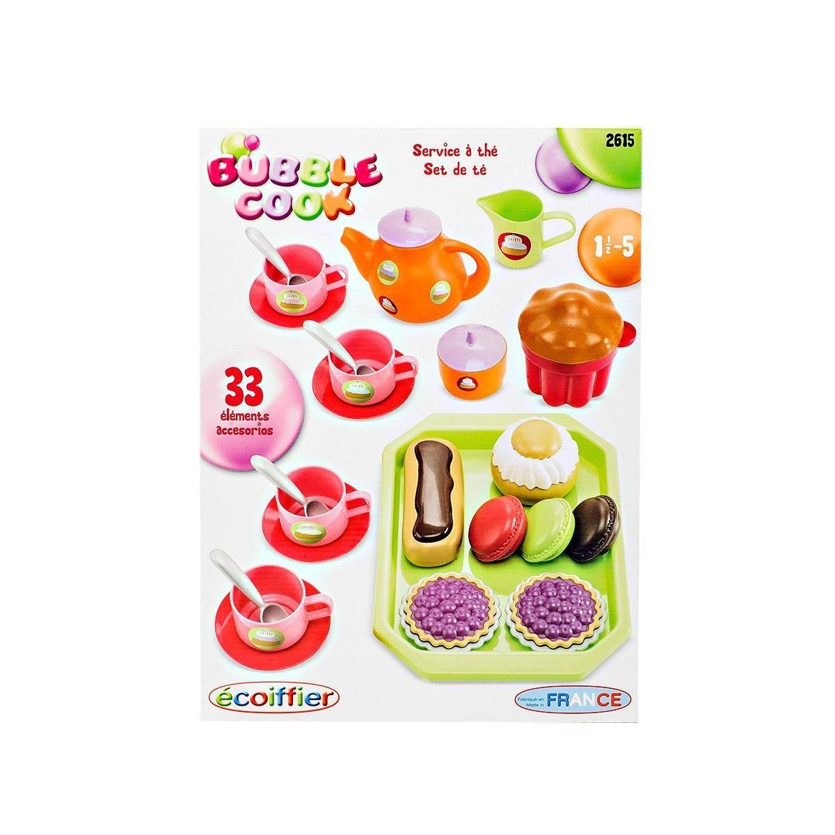 Игровой набор Ecoffier Чайный сервиз с пирожными (33 предмета)<br>