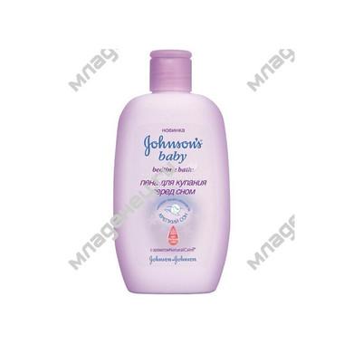 Пена для купания Johnsons baby Перед сном с ароматом Natural Calm 300 мл