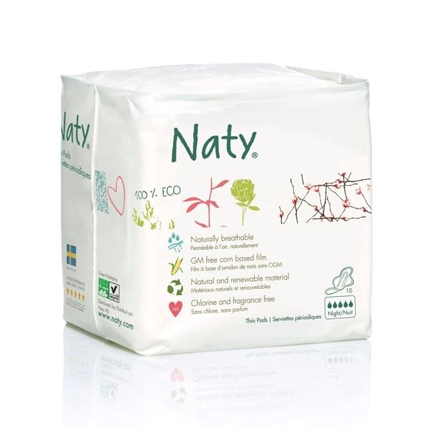 Гигиенические прокладки Naty Ночные<br>