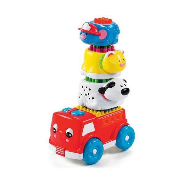 Развивающая игрушка Fisher Price Блестящие основы Пирамидка с 6 мес.