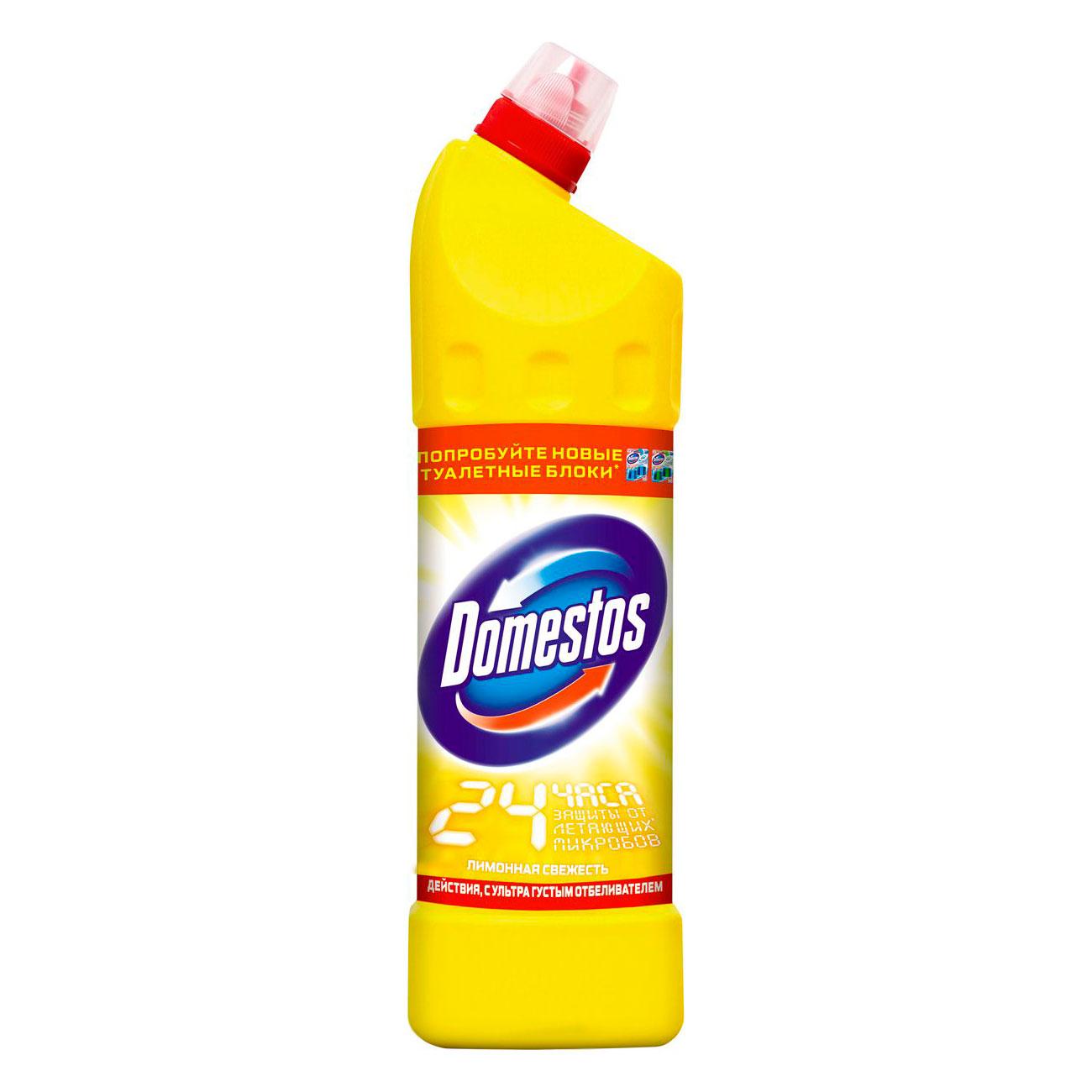 Чистящее средство Domestos универсальное лимонная свежесть 24 часа 1 л<br>