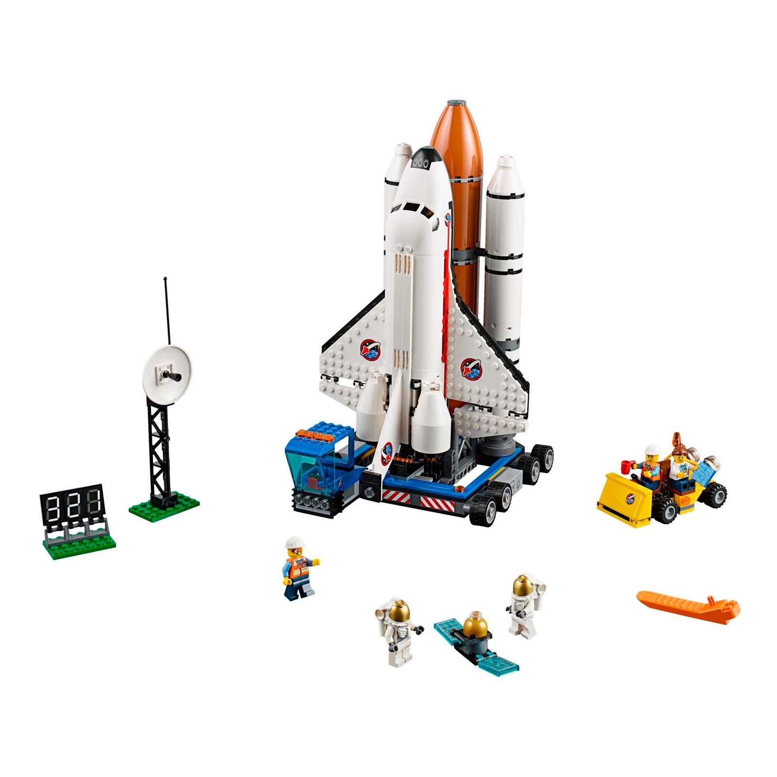 Конструктор LEGO City 60080 Космодром<br>