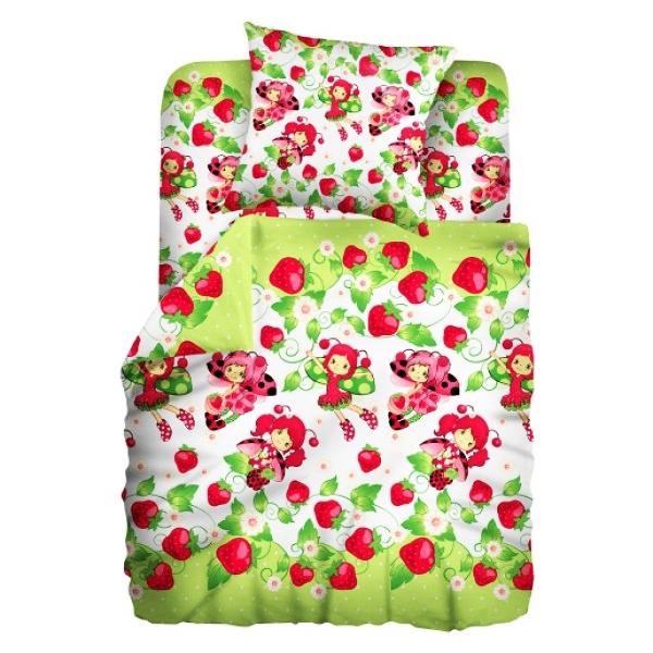Комплект постельного белья детский бязь Непоседа Кошки-мышки Божья коровка<br>