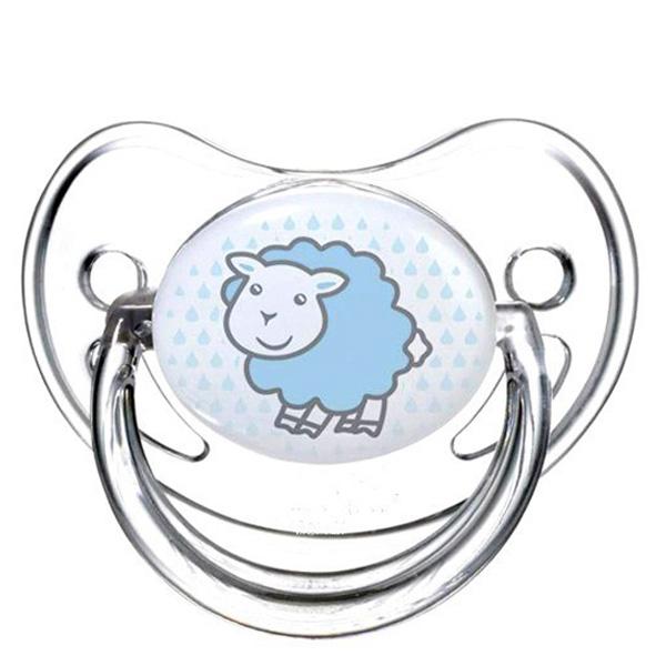 Пустышка Canpol Babies Transparent Анатомическая силиконовая (с 0 мес) овечка<br>