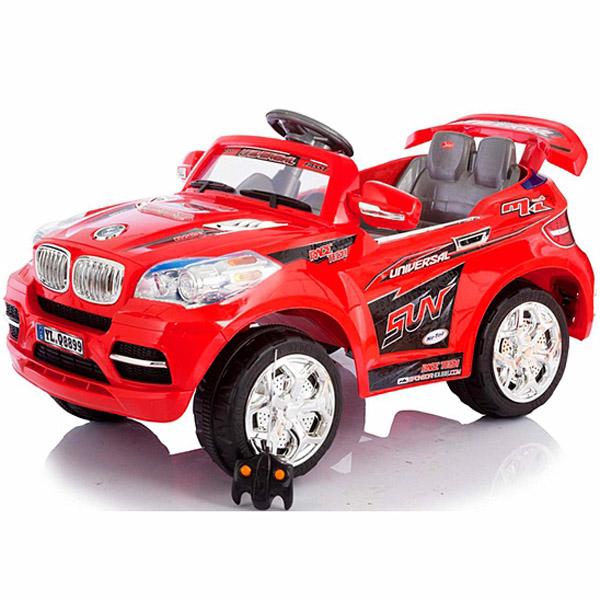 Электромобиль Jetem 2-х моторный SWX Красный<br>