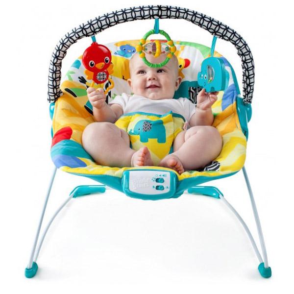 Кресло-качалка Bright Starts Солнечное сафари