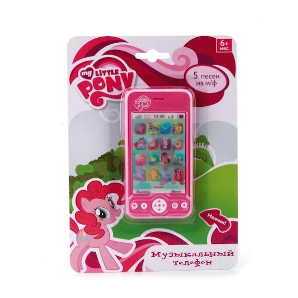 Музыкальный телефон  Умка My Little Pony 5 песен из мультфильма<br>